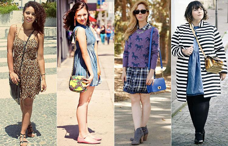 Qual é o peso correto ao usar bolsas femininas transversais?