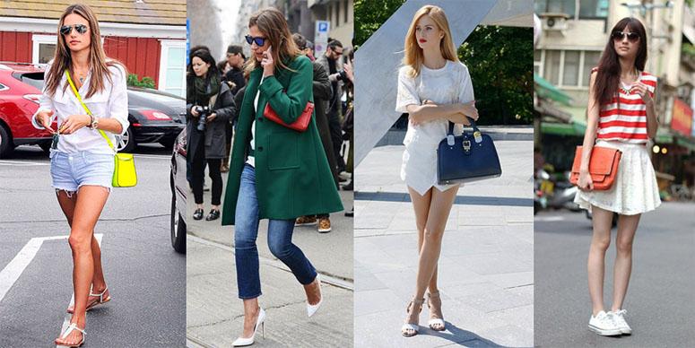 53fbd7a43 Afinal, é preciso combinar a bolsa feminina com os sapatos?
